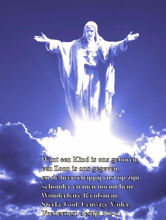 Jezus_in_de_Wolken_Kerst_Kaart