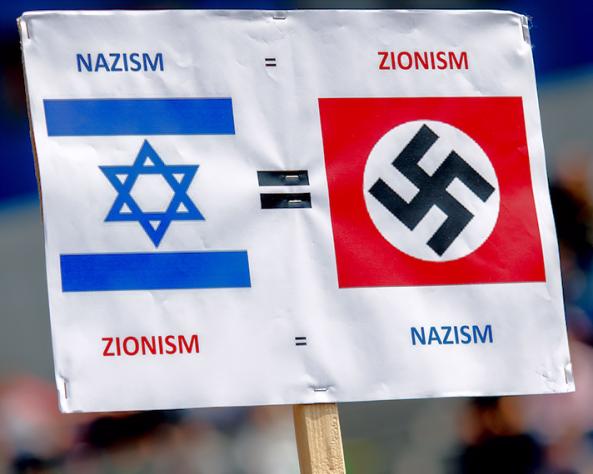 Antisemitisch Pamflet Pro Palestina Demonstratie Den Haag