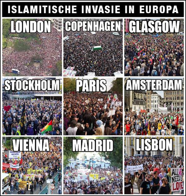 Islamitische Invasie Europa